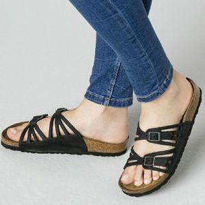 Birkenstock Granada Black sandal